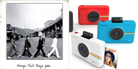 If it's good enough for the Beatles, It's good enough for you… Polaroid Snap Touch