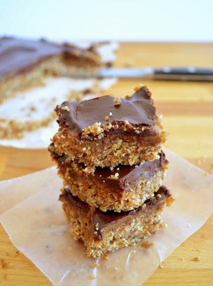 Ultimate Caramel Chocolate Squares from Rawsome Vegan Baking